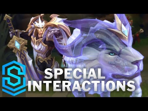 God-King Garen Special Interactions Mp3