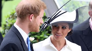 Meghan Markle Attends Her First Royal Ascot in Audrey Hepburn-Inspired Look