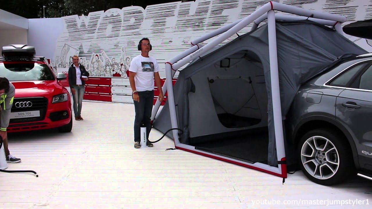 Audi Q3 2 0 Tdi Quattro S Tronic With Tent Youtube