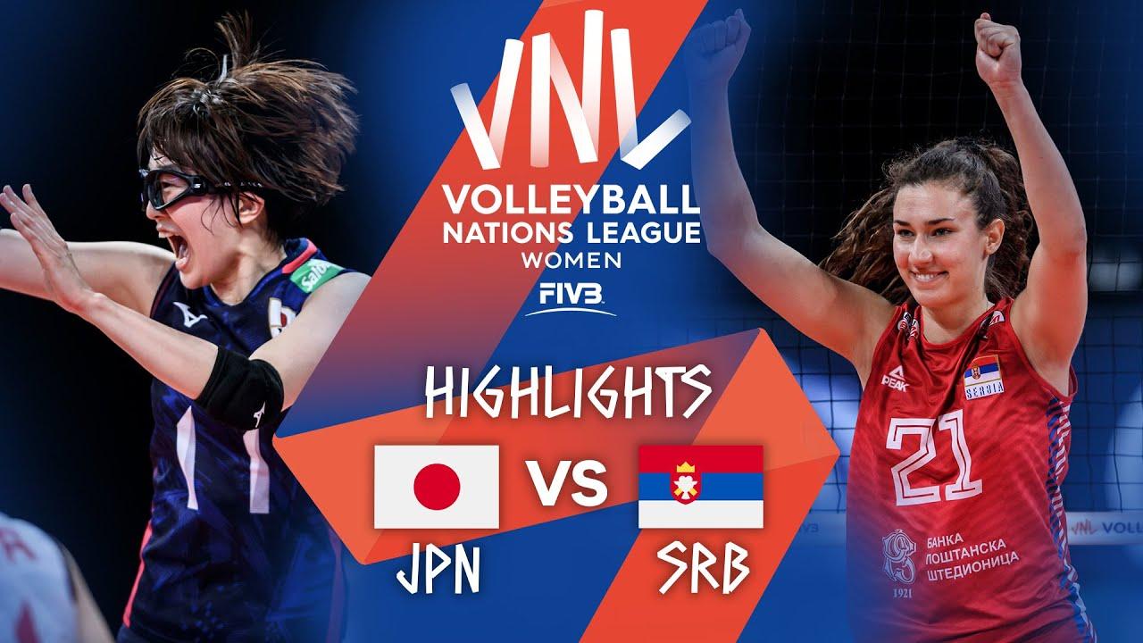 Download JPN vs. SRB - Highlights Week 5   Women's VNL 2021
