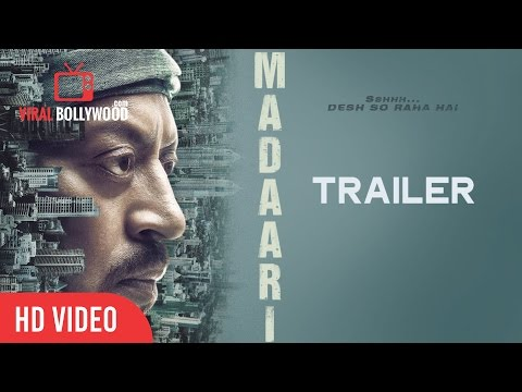 MADAARI Official Trailer Launch | Irrfan...
