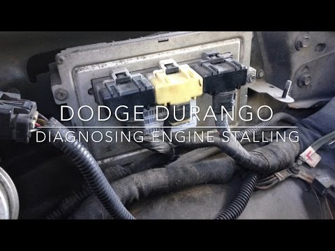 dodge durango engine stalling test | pcm/ecu failing test