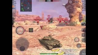 WoT Blitz ИС-5 первое впечатление
