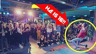 16 YEAR OLD KILLS LUCKY YOU ON STAGE!🔥 (Eminem - Lucky You Ft. Joyner Lucas) - KAiS