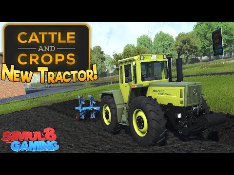 Cattle and Crops - Mercedes MB Trac & Store Menus! - Tech Demo 2