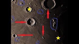 Searching For Moon Anomalies LIVE! 🔭  (10-19-18) 📡 Go Go Custom Camera! 🕵🏽