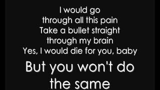Grenade - Bruno Mars [LYRICS][HQ]