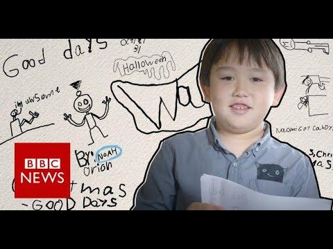 A boy's creative response to his mother's illness - BBC News