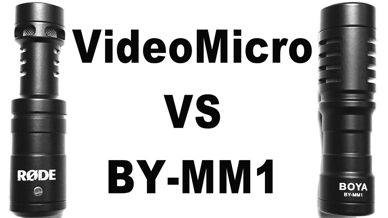Rode Videomicro Vs Boya By Mm1 Youtube