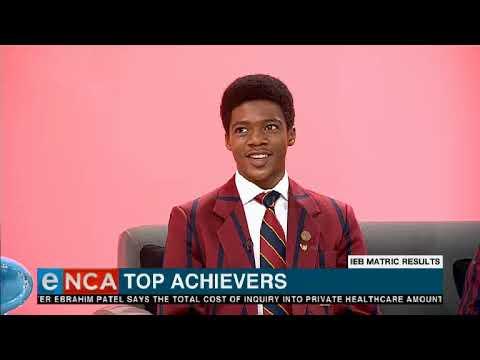 IEB matric top achievers