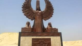 تمثال الحرية قبل 72ساعة من افتتاح قناة السويس الجديدة