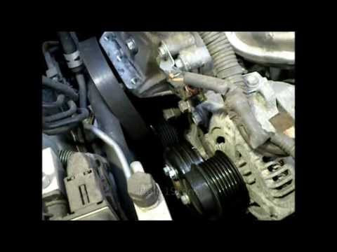 2009 toyota camry 2az fe 2 4l water pump replacement youtube. Black Bedroom Furniture Sets. Home Design Ideas