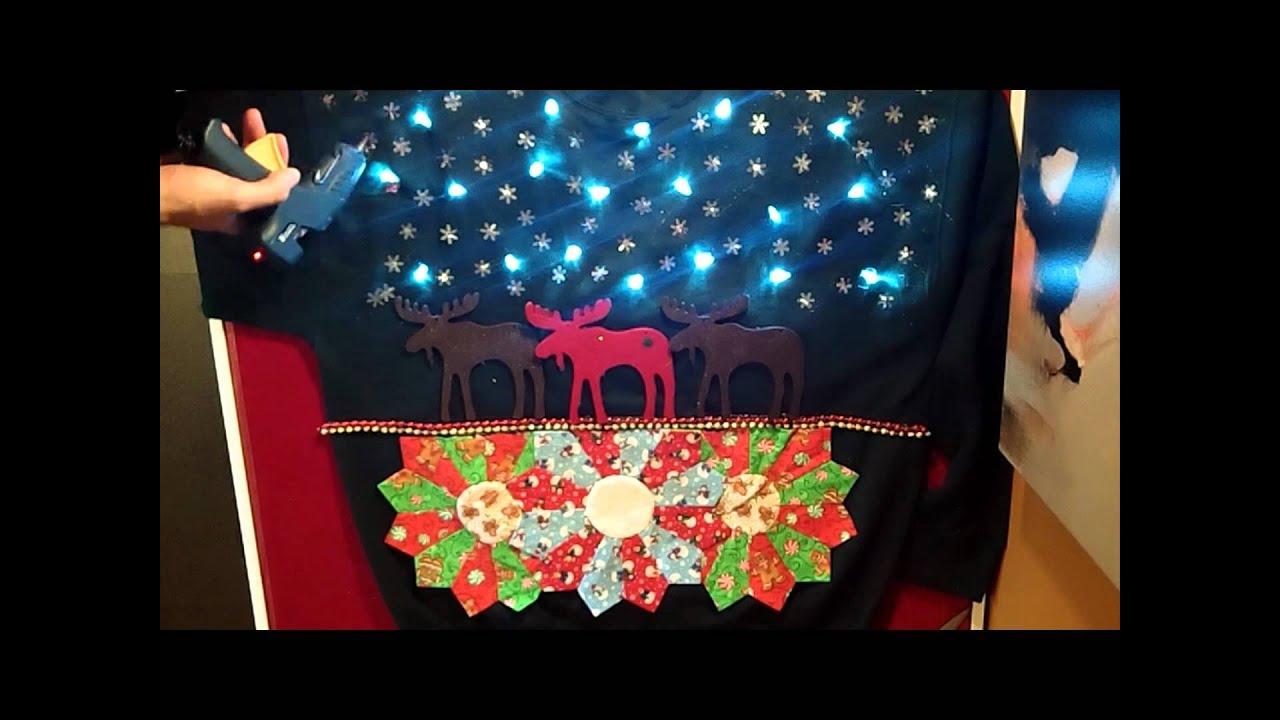 LED Christmas Sweater