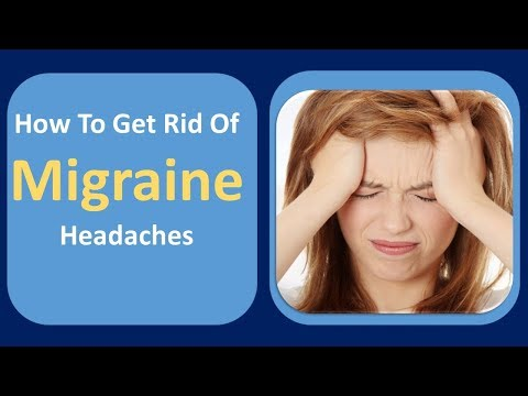 How To Get Rid Of Migraine Headaches | Ice Pack & Warm Water  Home Remedy