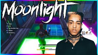 Moonlight by XXXTentacion in Fortnite Creative! | Music Block Creation!
