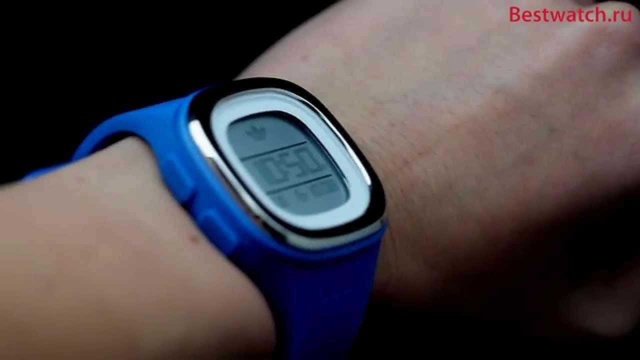 Mens digital watches black