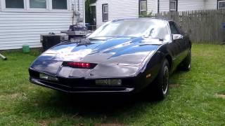 REAL KITT car using the IndyJarvis Talking Car Interface
