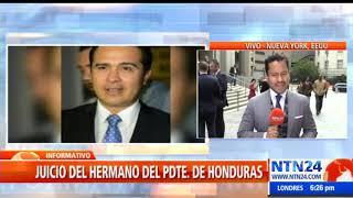 EEUU reveló estrategia del hermano del presidente de Honduras para lavar dinero