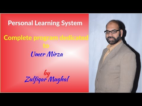 Personal Learning System complete workshop at Home Like School Sialkot
