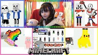 CHOOSE YOUR OWN MINECRAFT MOBS!!! - Nova Skins Part 1