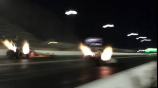 Doug Kalitta breaks the Route 66 Raceway Top Fuel speed track record (330.55 mph)