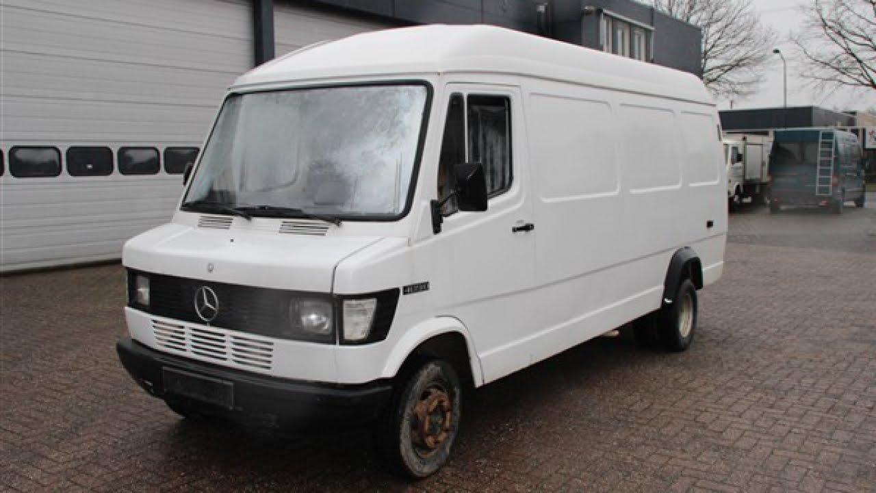 Mercedes benz bestelwagen 409 d maxi lang hoog youtube for Garage mercedes bron