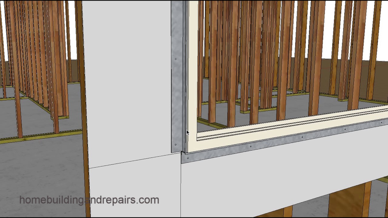 How to Install Flange Around Windows Without Flanges – Box Windows and Wood  Framing