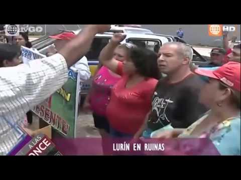 ASÍ RECIBIMOS LA MUNICIPALIDAD DE LURÍN!! ENERO 2015