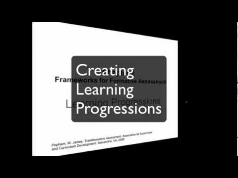 Creating Learning Progressions