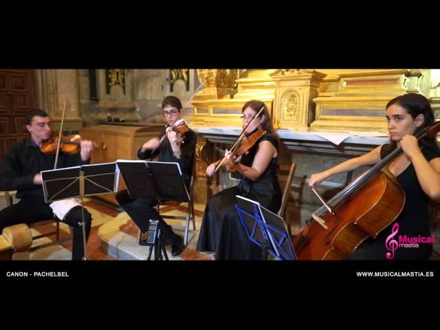 Canon - Pachelbel SANTUARIO DE LA FUENSANTA Bodas Murcia WEDDING cuarteto cuerda