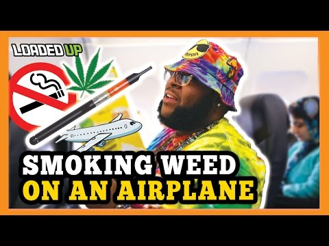 Smoking Weed On An Airplane | 2017 Las Vegas High Times Cannabis Cup Vlog Episode 1/2