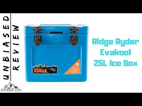 RIDGE RYDER 25L EVAKOOL ICE BOX - Unbiased Review