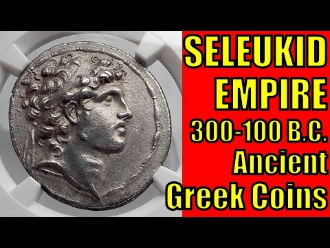 SELEUKID Kingdom circa 300 100BC Ancient Greek Coins Guide and Collection