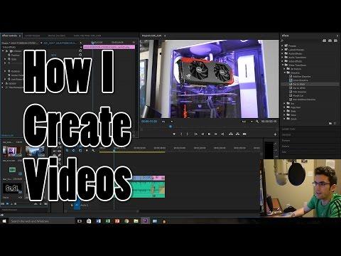 My Editing Workflow (Adobe Premiere Pro Tutorial)