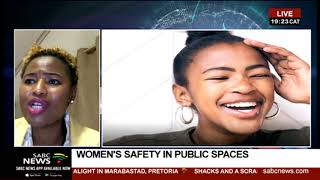 Safety of women and children in public spaces: Dr. Nthabiseng Moloko