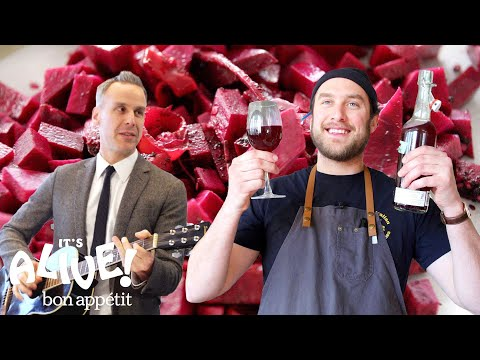 Brad Makes Beet Kvass | Its Alive | Bon Appétit