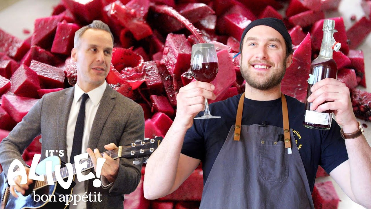 Brad Makes Beet Kvass | It's Alive | Bon Appétit