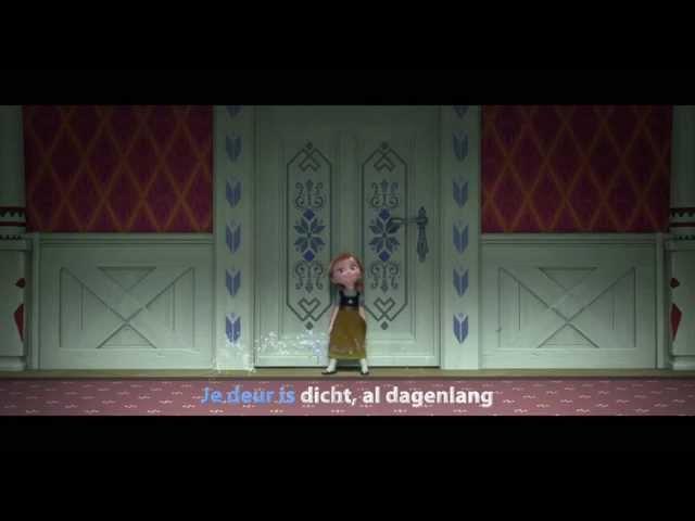 Frozen Sing-A-Long | Zullen wij een sneeuwpop maken | Disney Dutch (NL) Official Clip HD