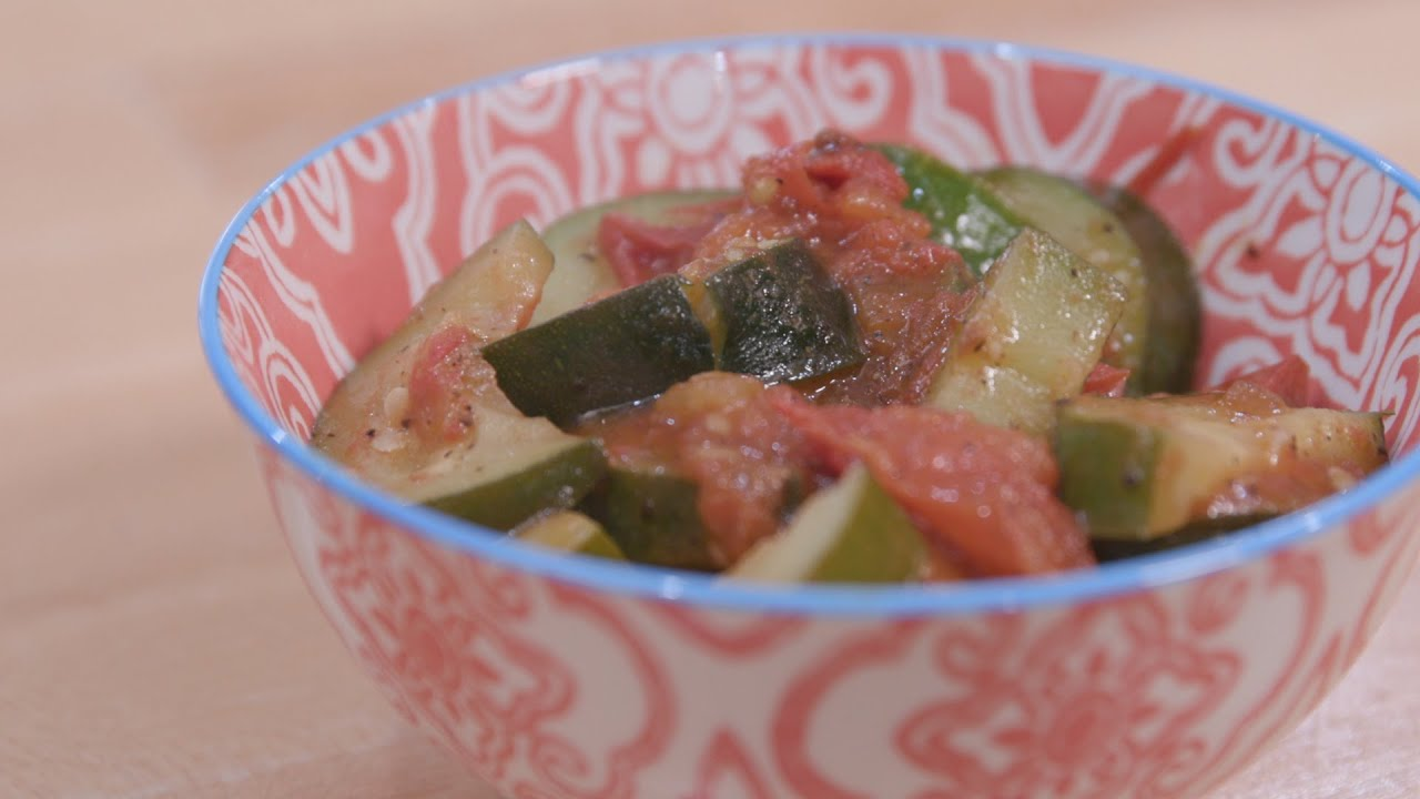 Food Factor: Zucchini and Tomatoes
