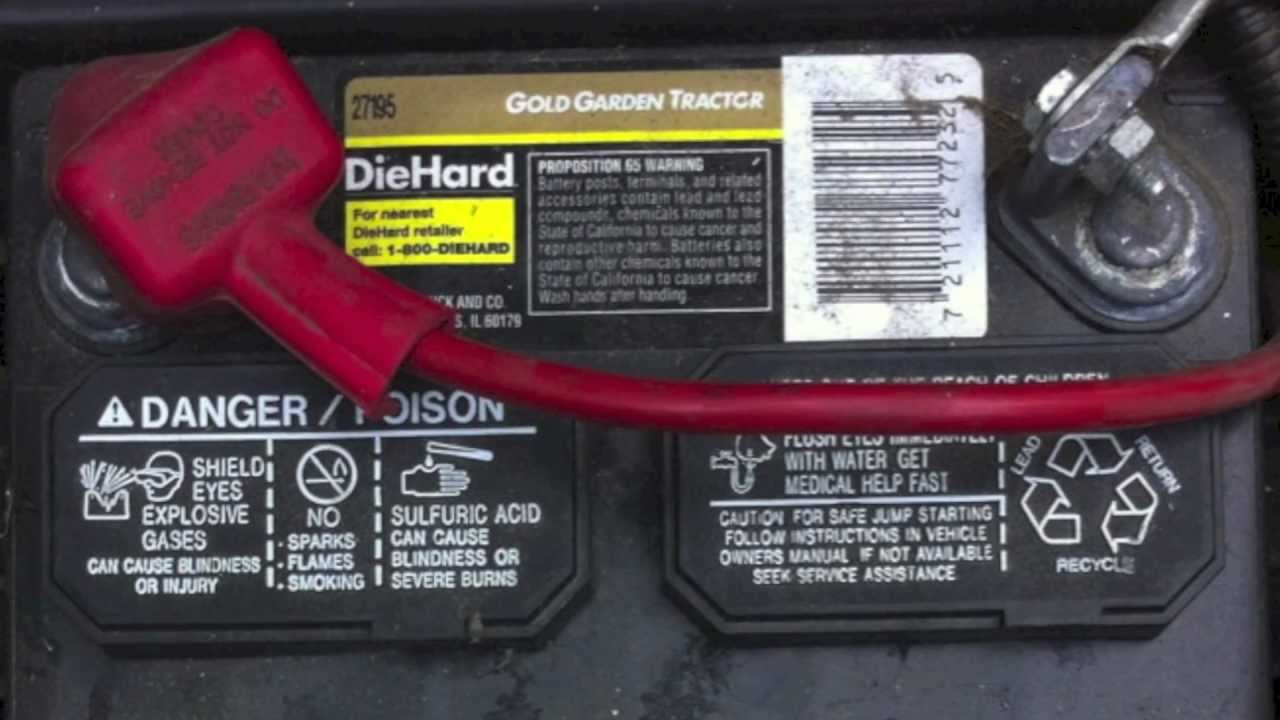 Best Lawn Tractor Battery Replacement For Garden Tractors Mowers With 12v Batteries