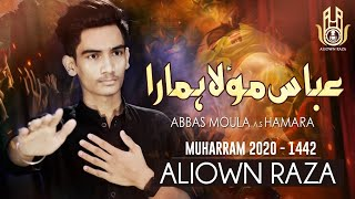New Noha | Abbas Moula as Hamara | Aliown Raza | Abbas e Alamdar | New Noha 2020