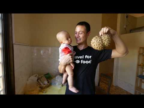 Living in Cambodia - Typical SHOP HOUSE Accommodation Tour in Phnom Penh $25 Per Night!