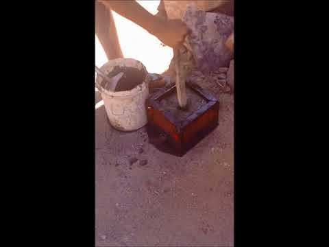 Cube Test (Test for compressive strength of concrete)
