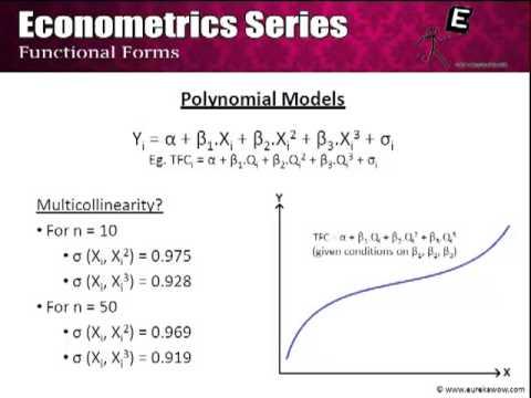 Econometrics - Functional Forms - YouTube