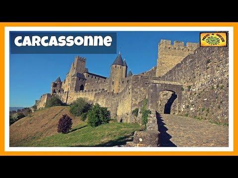 ¿Qué ver y visitar 1 día en CARCASONNE? Fortaleza más grande de Europa | Occitania 5# | Languedoc
