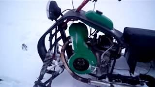 Самодельный Снегоход С Двигателем Иж Устройство