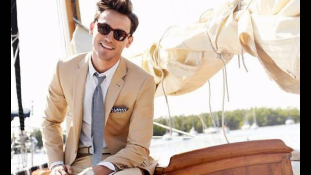 Outfits para bodas hombres youtube for Boda en jardin como vestir