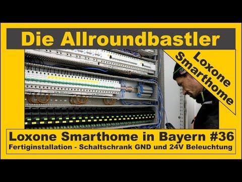 loxone-smarthome---fertiginstallation-in-bayern-#36---schaltschrank-gnd-und-24v-beleuchtung