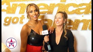 America's Got Talent: Glennis Grace REVEALS How She Feels About Her Competitors on AGT