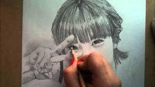 Drawing KPOP - IU - 아이유